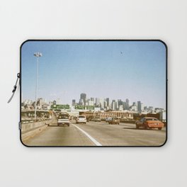 Highway 101 in San Francisco in the 1980s Laptop Sleeve