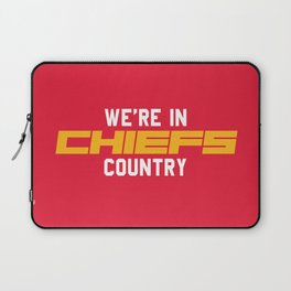 We're in Chiefs Country Laptop Sleeve