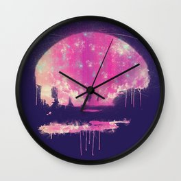 Carrying The Fire Wall Clock