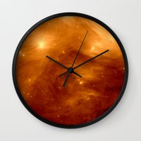 copper Wall Clocks featuring Copper by 2sweet4words Designs