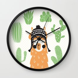 Llam Wall Clock