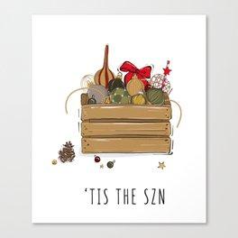 Tis the SZN Canvas Print