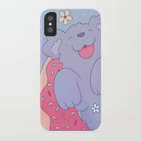 donut iPhone & iPod Cases featuring Donut by Nandi Appleby