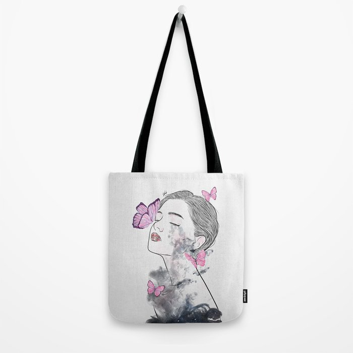 A touch of butterflies. Tote Bag
