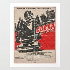 COBRA - George Pan Cosmatos Art Print