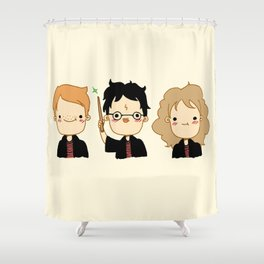 Happy Potter Shower Curtain