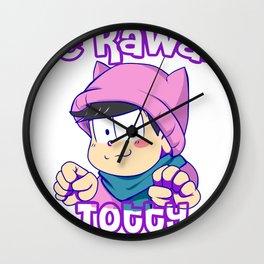 Be kawaii Wall Clock