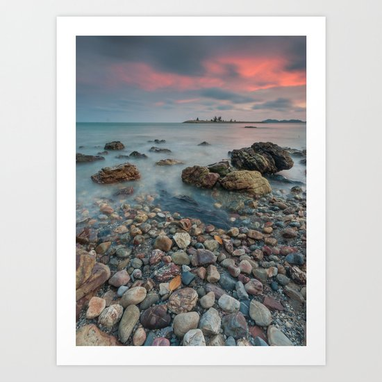 sea nature beach 4 Art Print