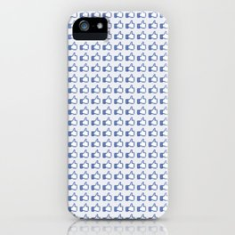 Blue Heroin iPhone Case