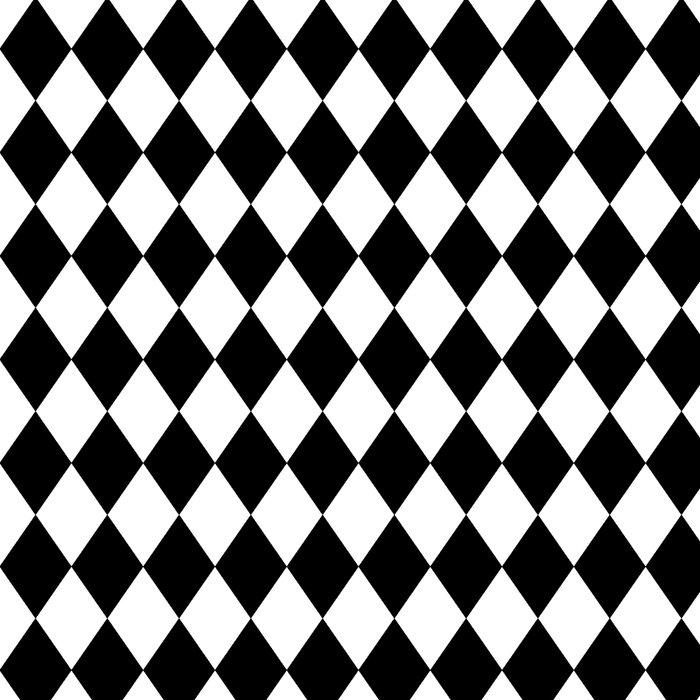 Diamonds (Black/White) Leggings