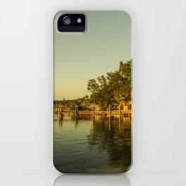 Key Largo Gold iPhone Case