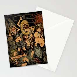 L7 rock Band Stationery Cards
