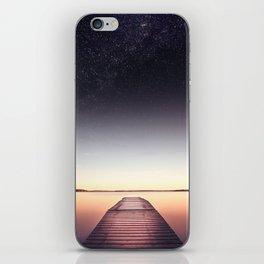 Skinny dip iPhone Skin