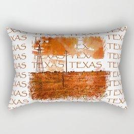 West Texas Windmill Rectangular Pillow