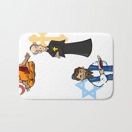Religious Icons Bath Mat