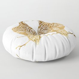 Two Turtle Doves Floor Pillow