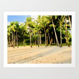 Coconut Trees Art Print