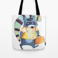 doctor Tote Bags featuring doctor by miremari