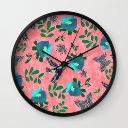 Colibríes de México Wall Clock