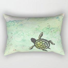 Odyssey Turtle Rectangular Pillow
