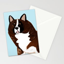 American Akita Stationery Cards
