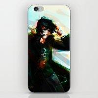 viria iPhone & iPod Skins featuring Nico di Angelo by viria