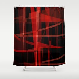internal core Shower Curtain