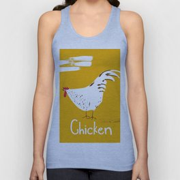Chicken Unisex Tank Top