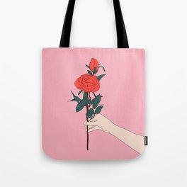 Brin de roses Tote Bag