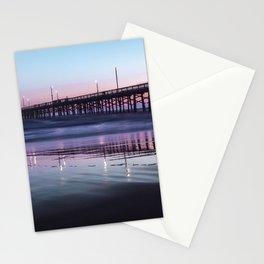 Sunset Beach Pier Stationery Cards