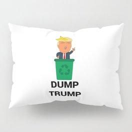 Dump Trump Pillow Sham