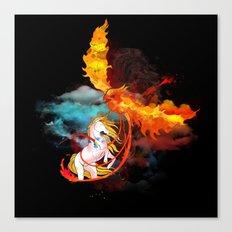 EPIC BATTLE OF COLORS Canvas Print