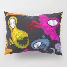 colorful hybrid witches Pillow Sham
