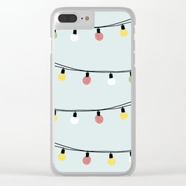 Fiesta and Lampions Clear iPhone Case