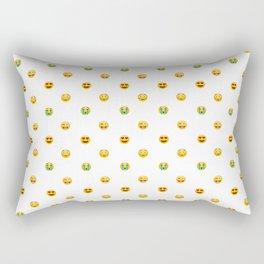 Emoji Pattern Rectangular Pillow