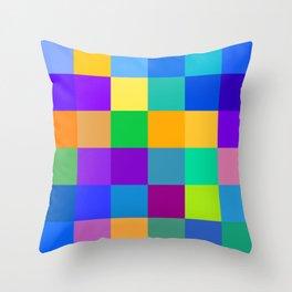 Damier Mosaïque Throw Pillow