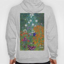 Gustav Klimt - Cottage Garden Hoody