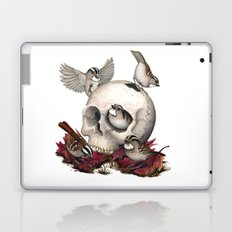 White-throated Sparrows Forage Amongst Human Remains Laptop & iPad Skin