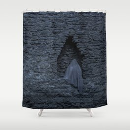 The shadow Shower Curtain