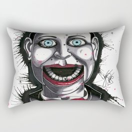 The Horror of Billy the Doll Rectangular Pillow