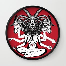 Woman is a Devil Wall Clock
