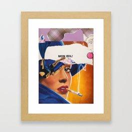 Mon Oeil Framed Art Print