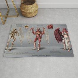 Lilith Anatomy Study Rug