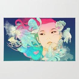 Fish Lady Rug