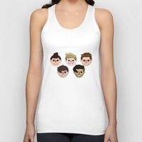 animal crossing Tank Tops featuring Animal Crossing One Direction by Pinkeyyou