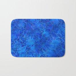 Frozen Leaves 6 Bath Mat