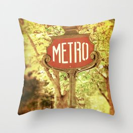 METRO2 Throw Pillow