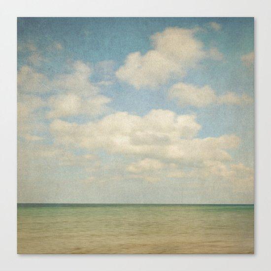 sea square III Canvas Print