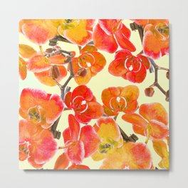 Orchid #society6 Metal Print