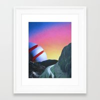 trip Framed Art Prints featuring Trip by Djuno Tomsni